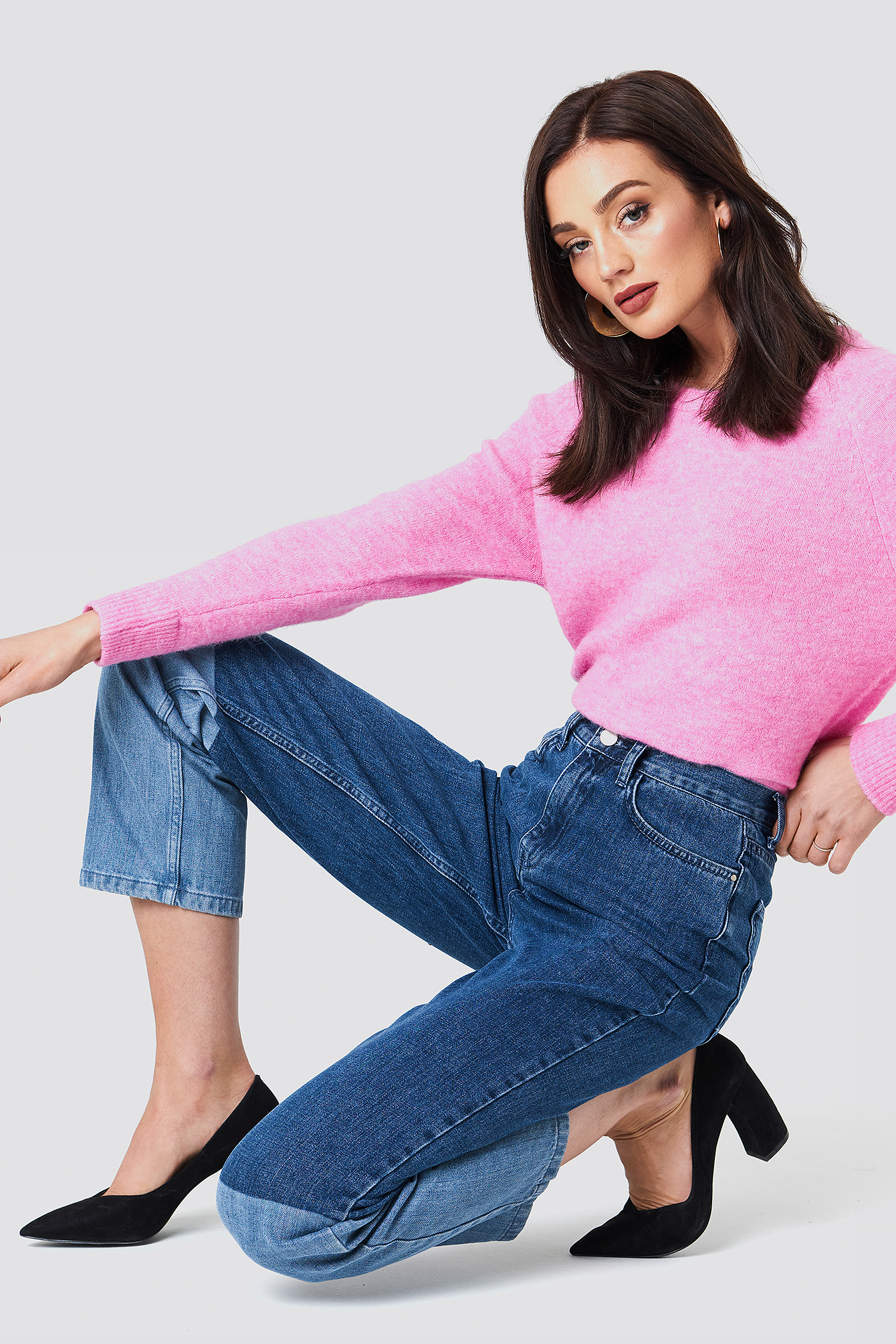 Blocking Denim Jeans NA-KD.COM