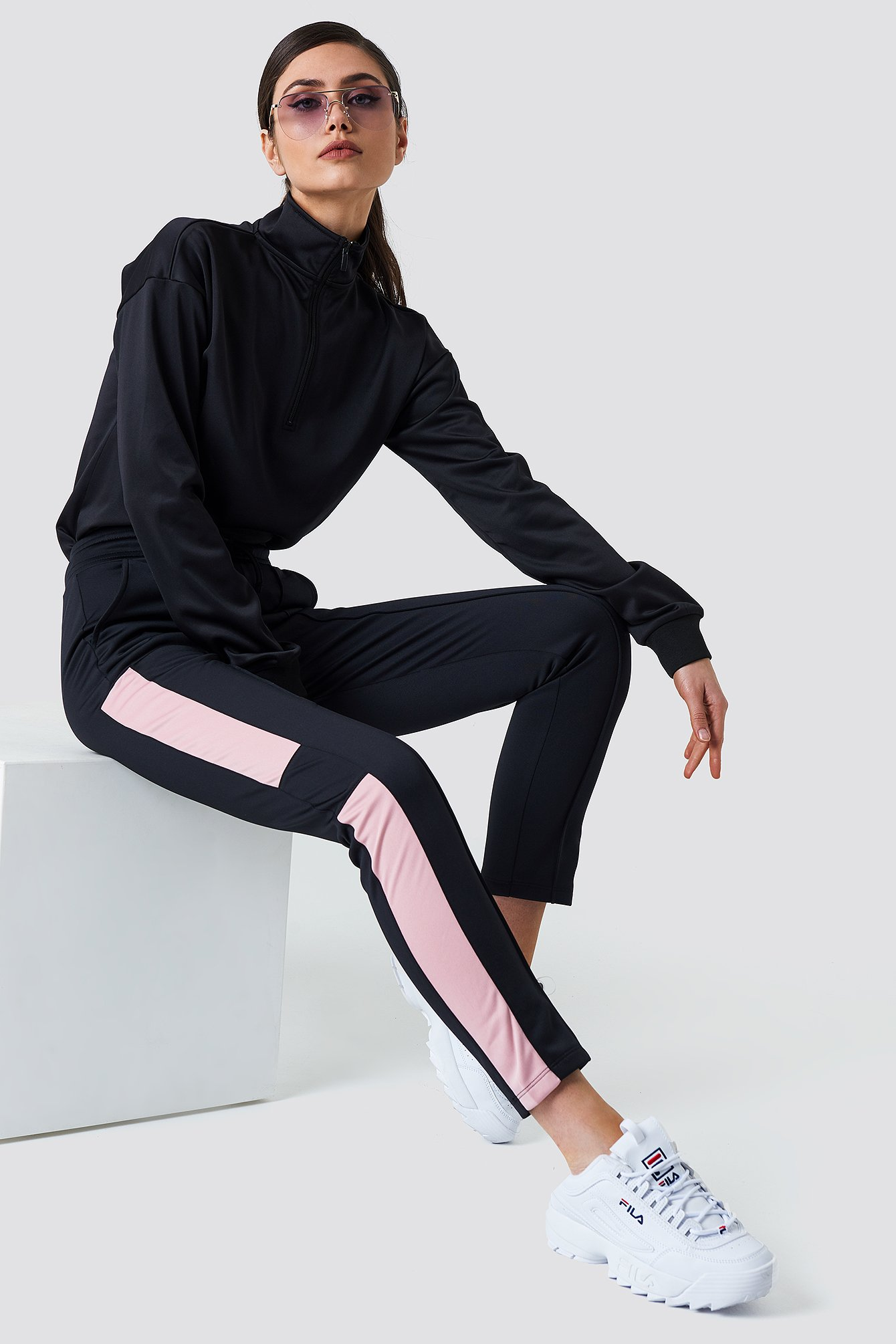 Blocked Track Pants NA-KD.COM