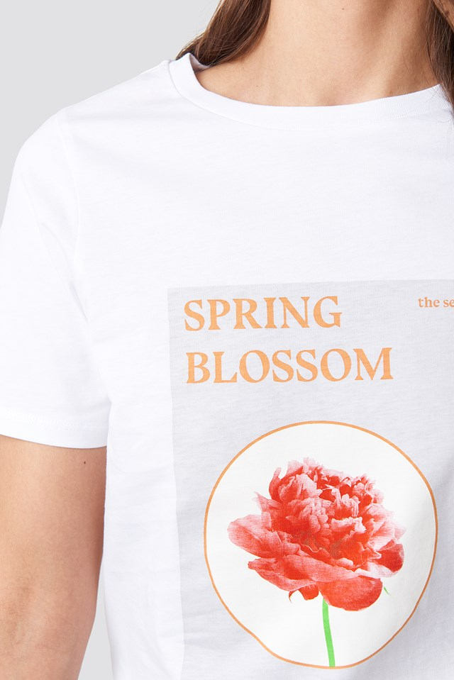 Blossom T-shirt Optical White