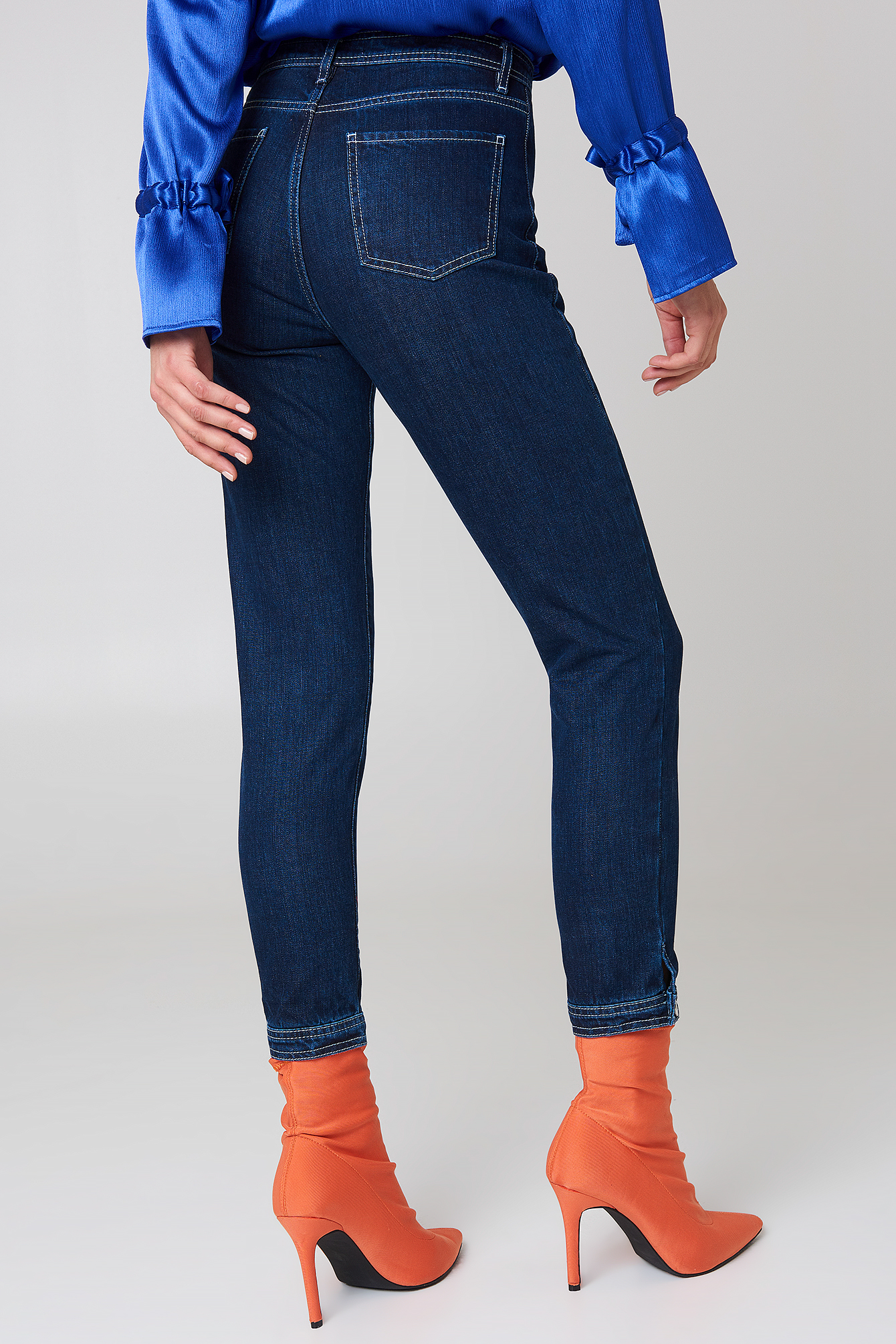 Bottom Hem Detail Denim NA-KD.COM