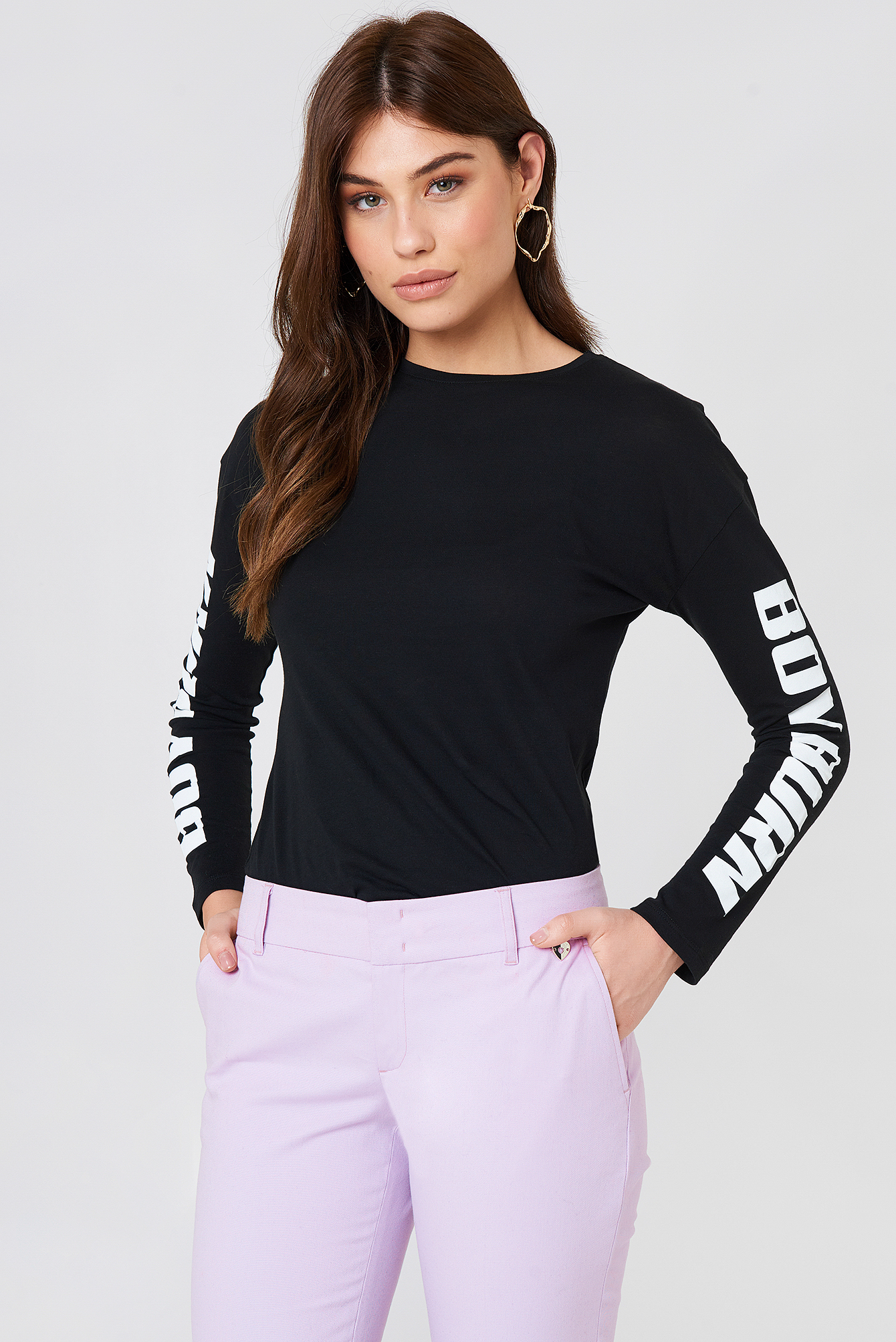 Boy Burn LS Top NA-KD.COM