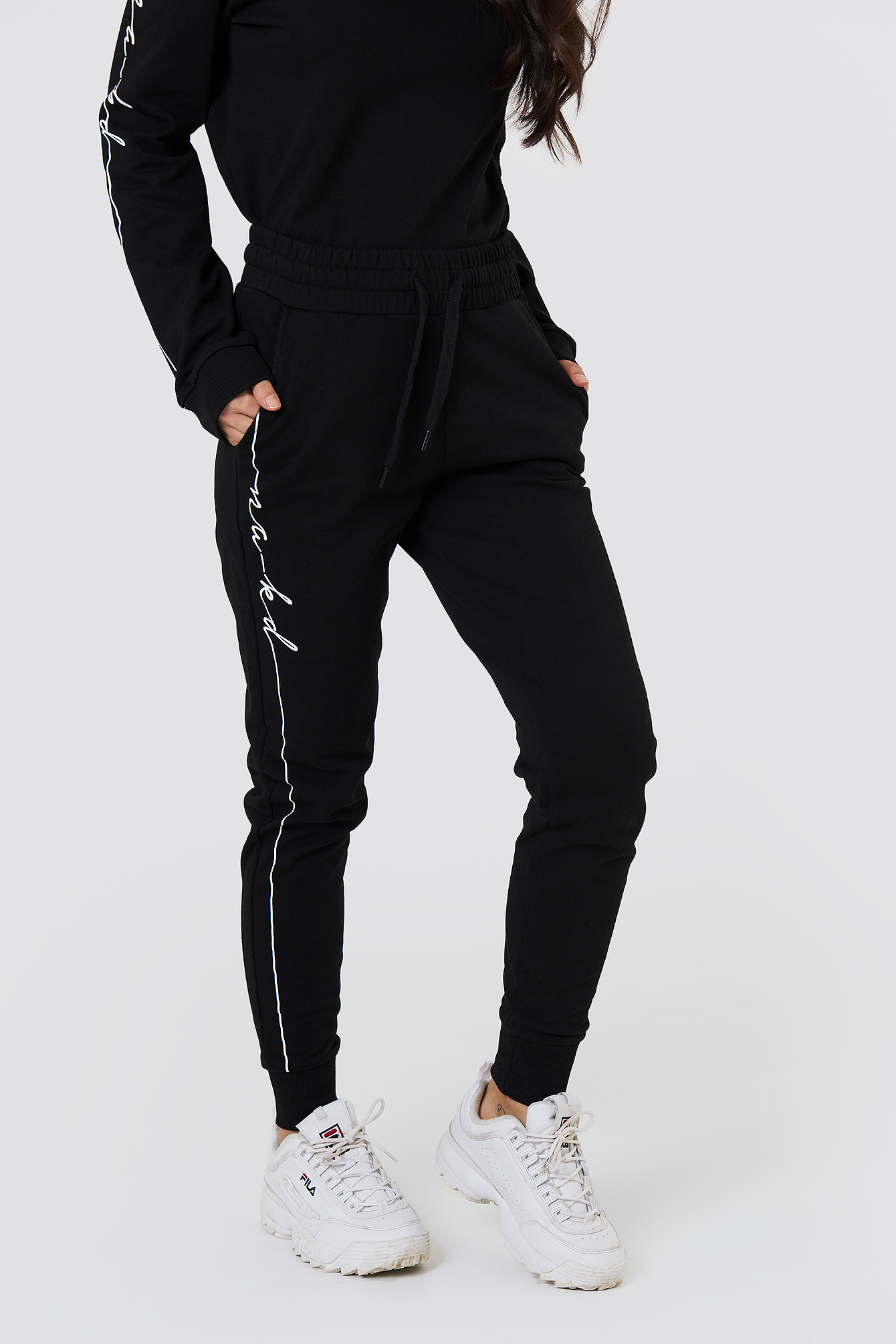 Branded Sweatpants NA-KD.COM