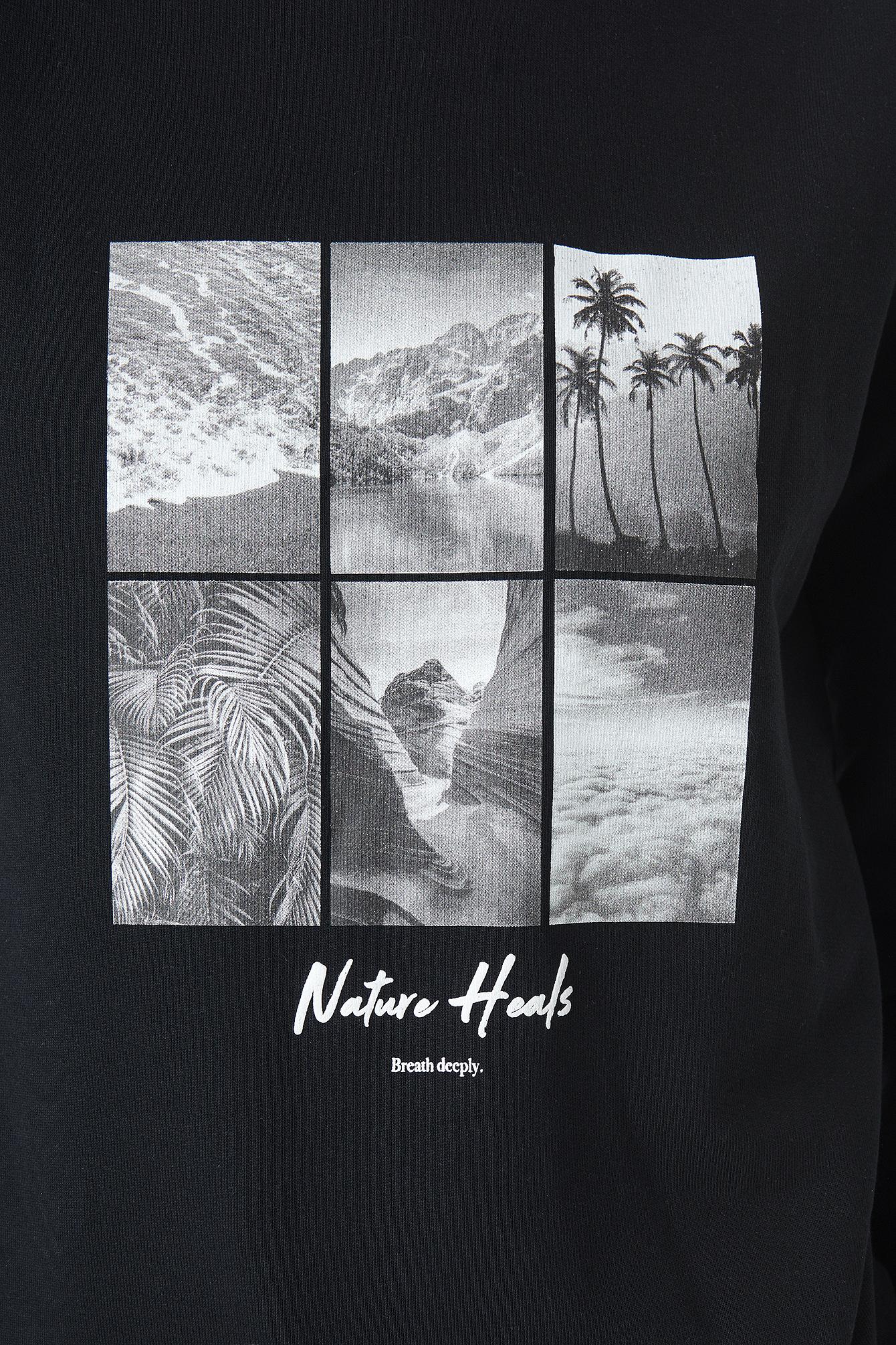 Breathe Deeply Sweatshirt NA-KD.COM