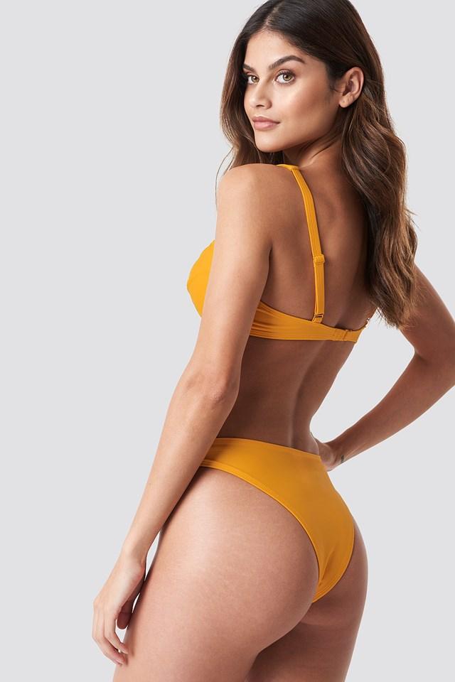 Bridge Detail Bikini Bra Citrus