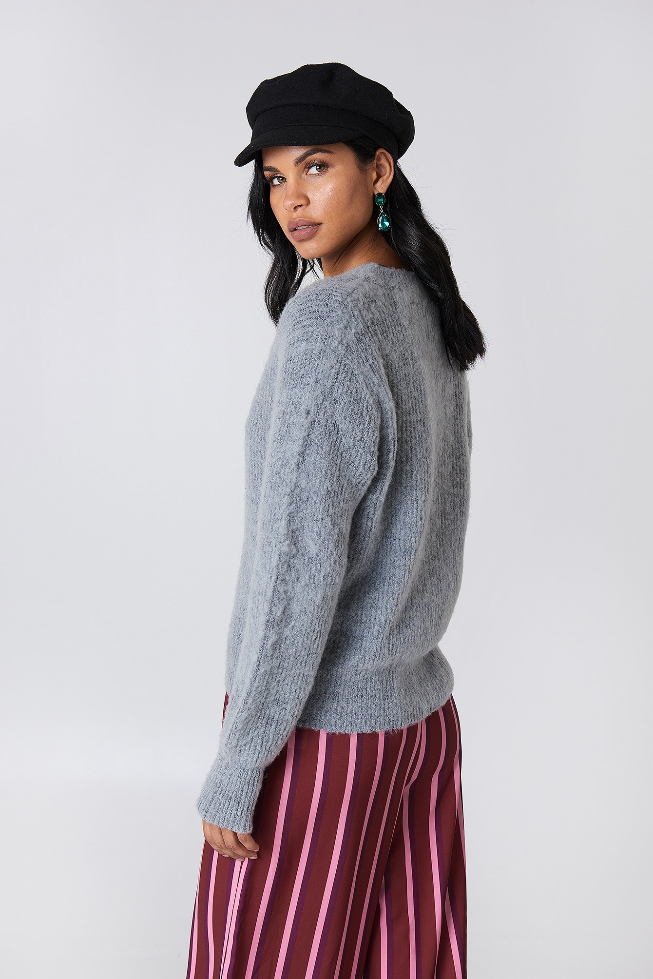 Brushed Cardigan NA-KD.COM