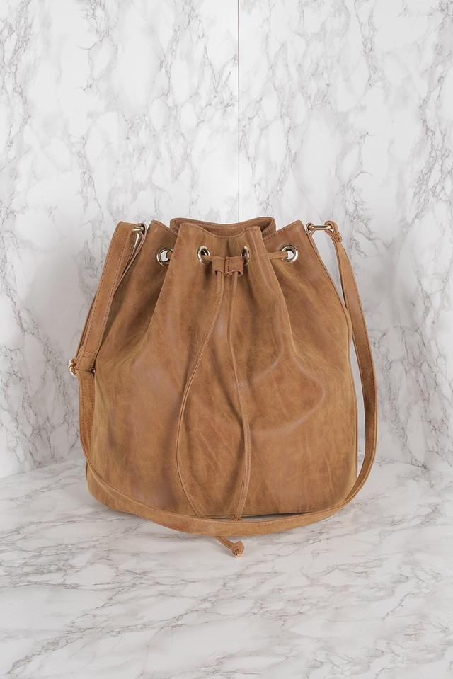 Bucket bag Brown