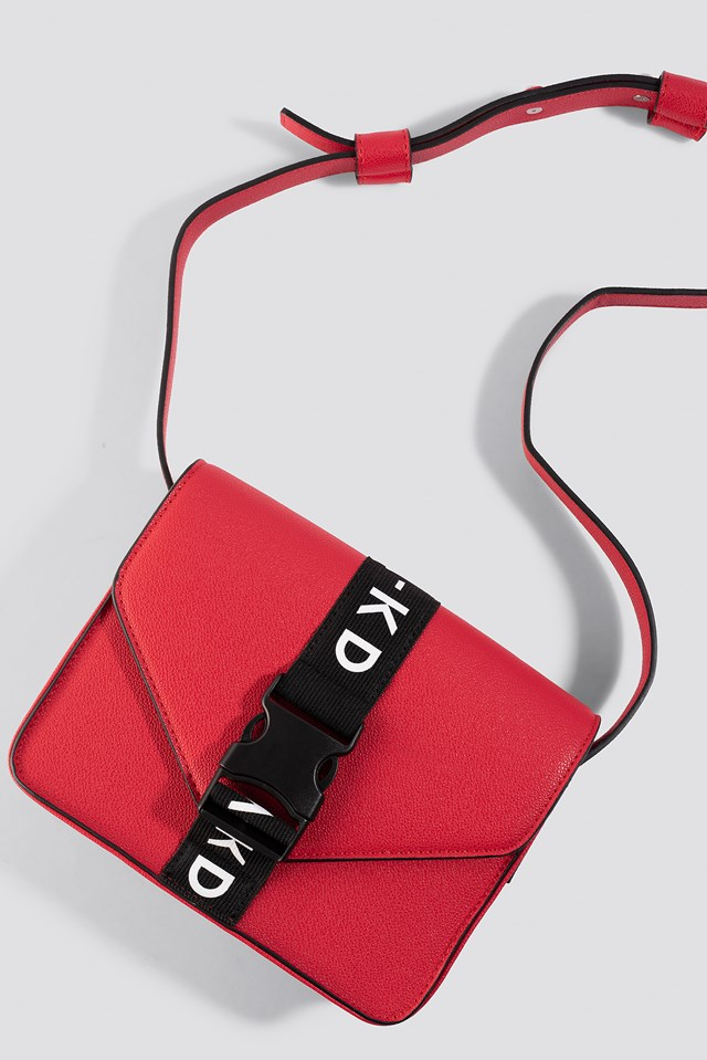 Buckle Bag Red