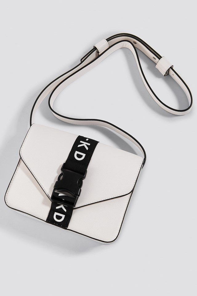 Buckle Bag White