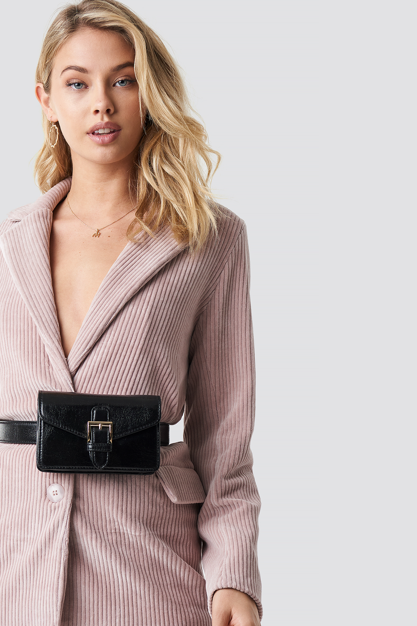 na-kd accessories -  Buckle Detail Belt Bag - Black