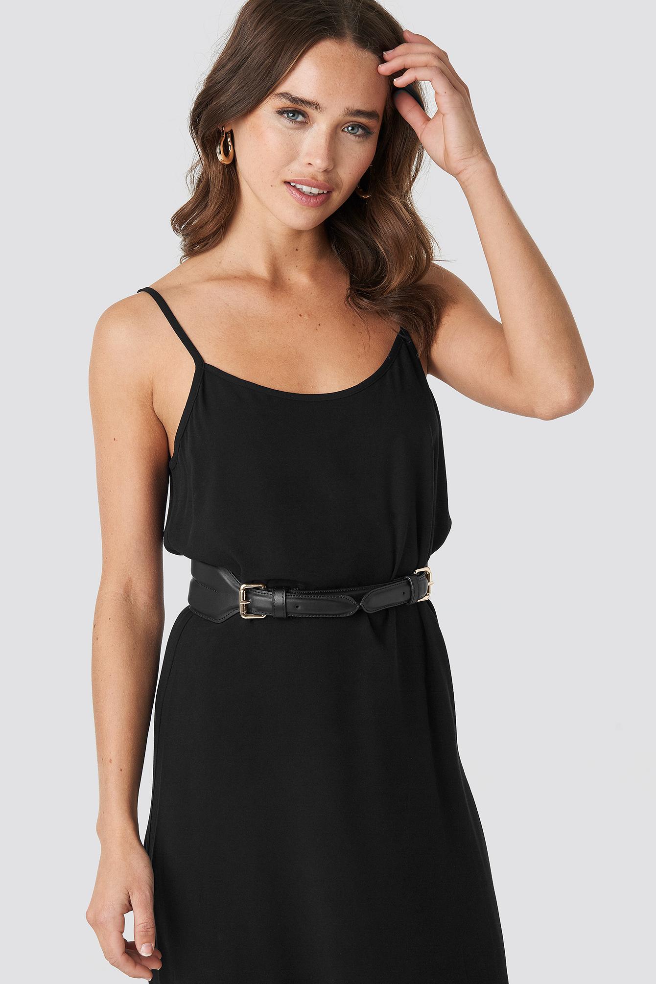 Buckle Leather Waist Belt NA-KD.COM