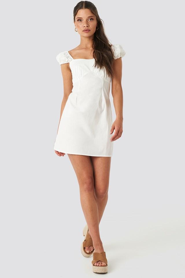 Bust Detail Mini Dress NA-KD.COM