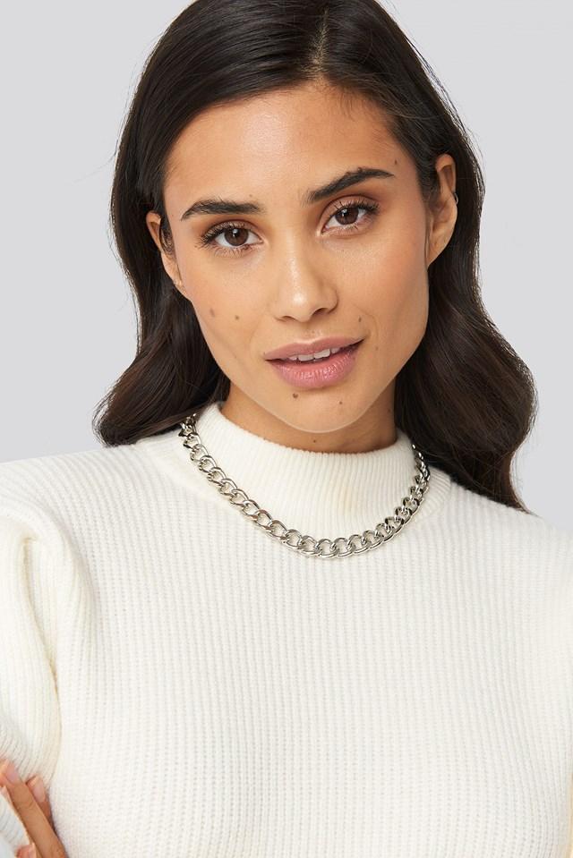 Belgium Necklace Silver