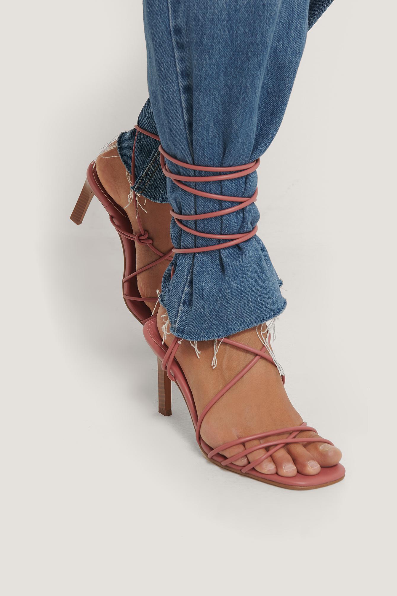 na-kd shoes -  Absatzschuhe Mit Riemen - Pink