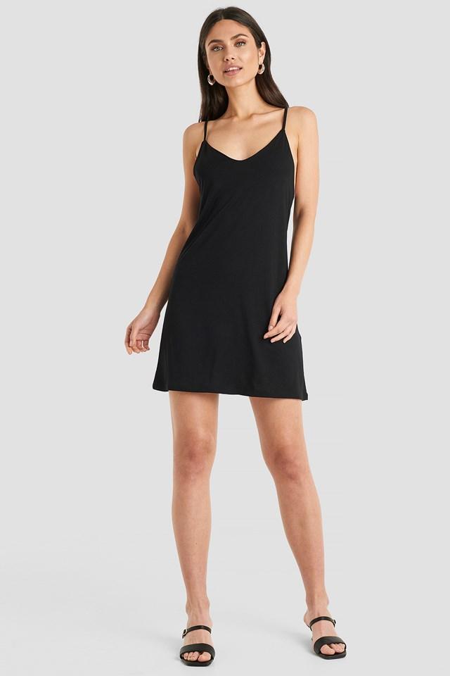 Cami Shift Dress Black