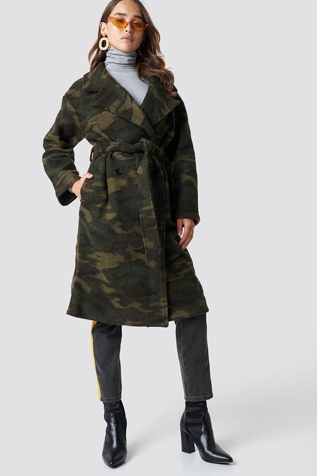 Camo Coat NA-KD Trend