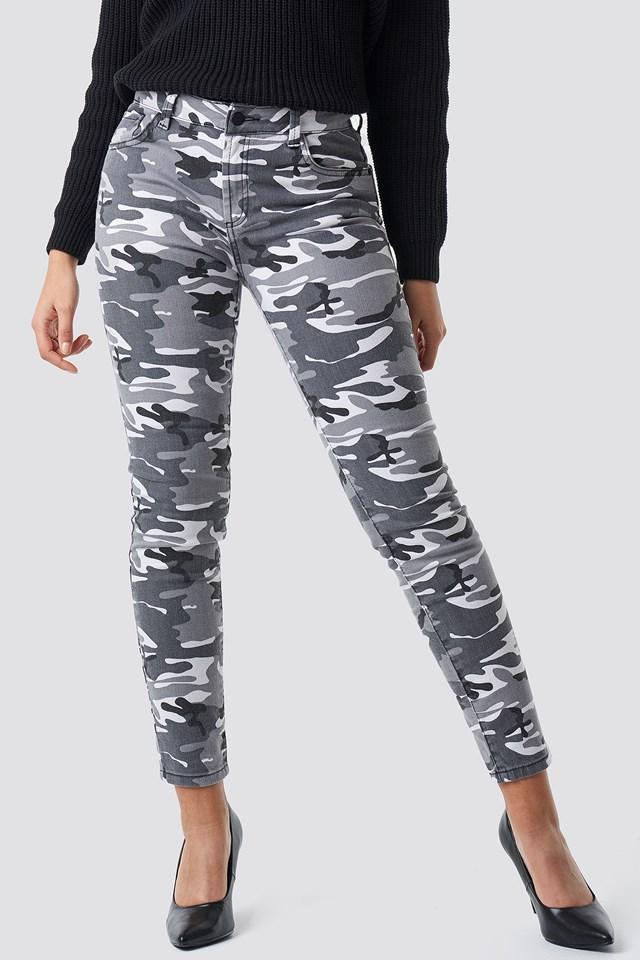 Camo Skinny Jeans Camo