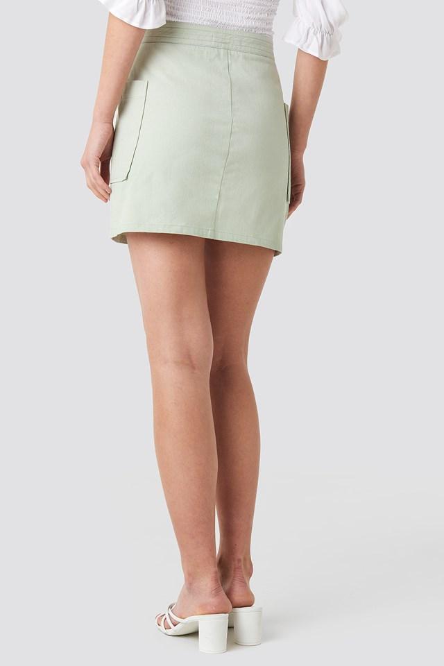 Cargo Mini Skirt Mint