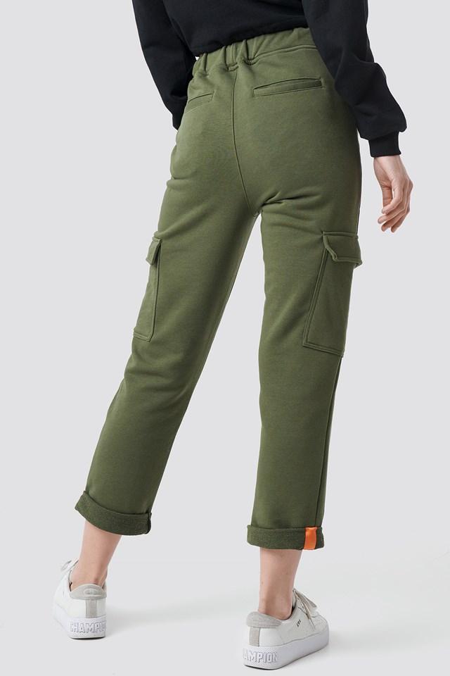 Cargo Pocket Jogger Green