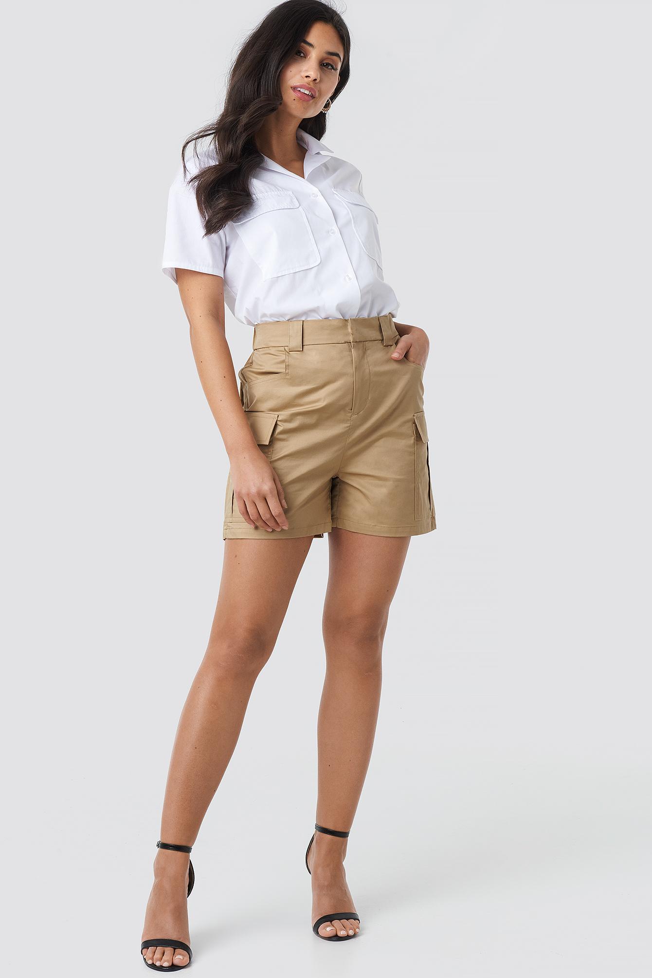 Cargo Shorts NA-KD.COM