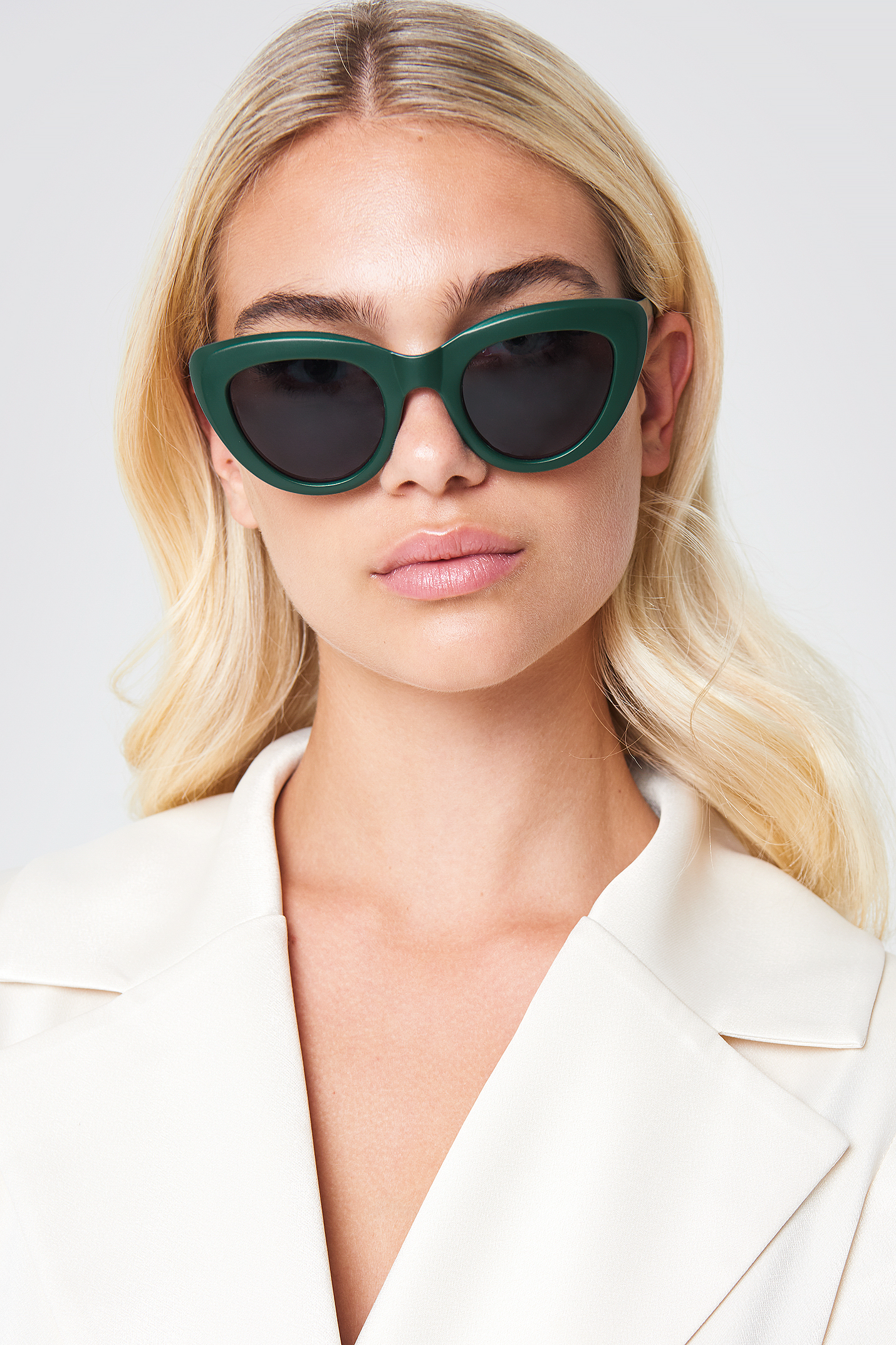 na-kd accessories -  Cat Eye Sunglasses - Green