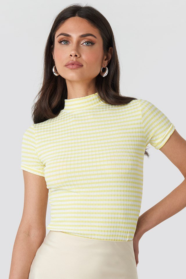 Cello Tee Light Yellow/Cream