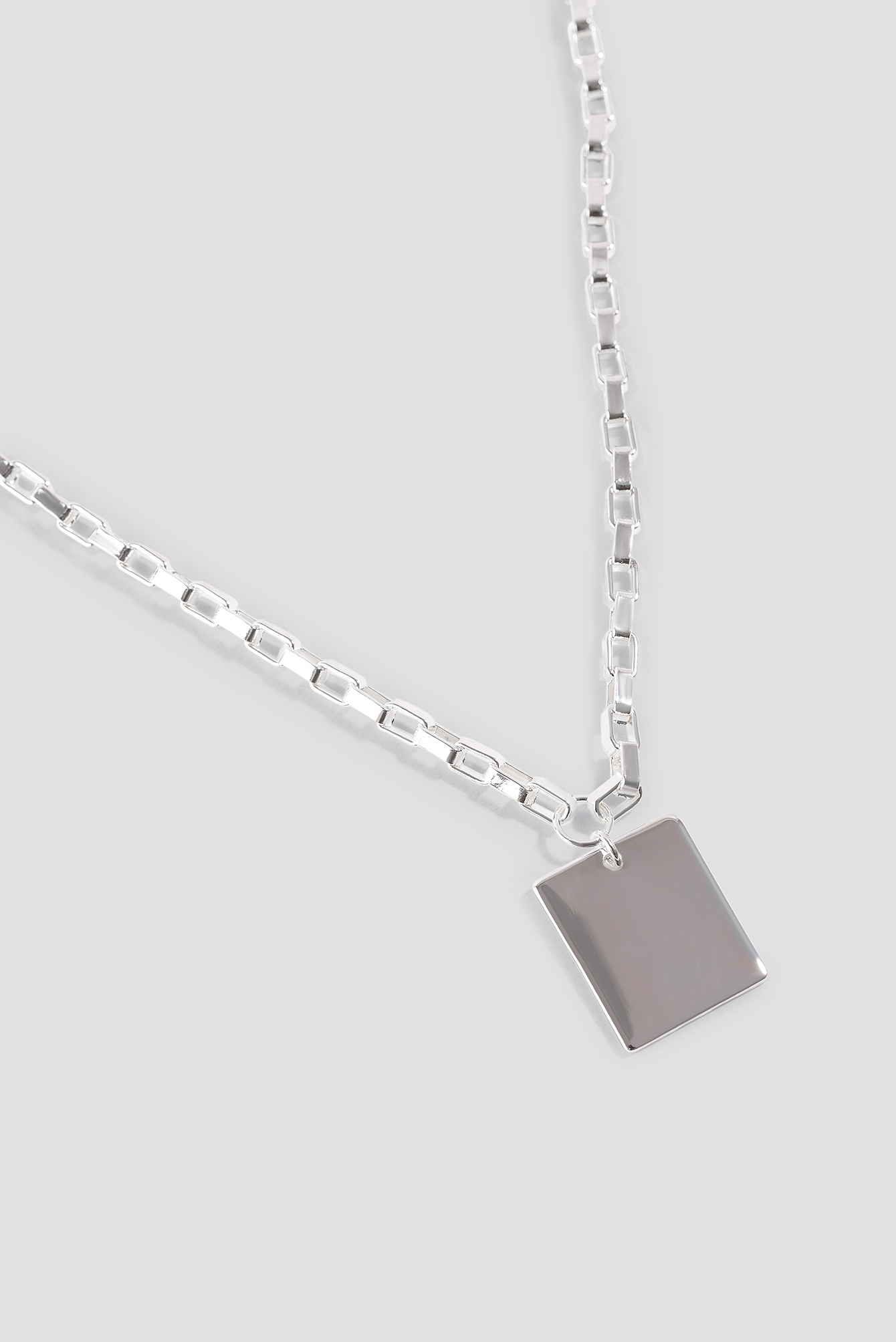 Chain Plate Necklace NA-KD.COM