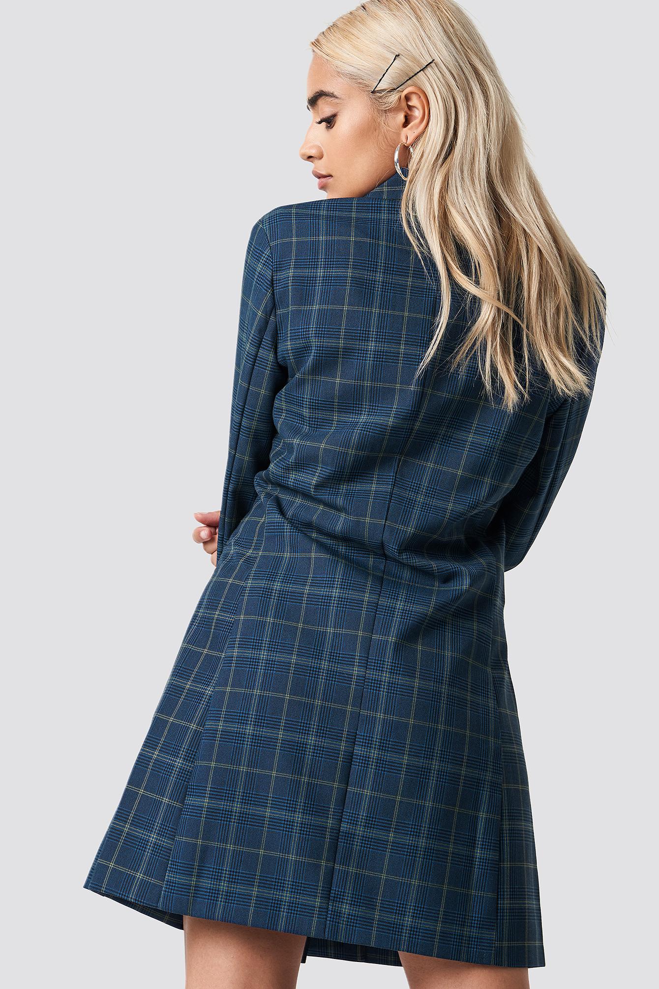 Checked Blazer Dress NA-KD.COM