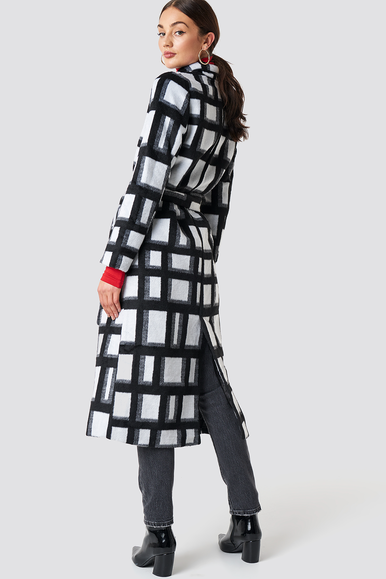 Checked Coat NA-KD.COM