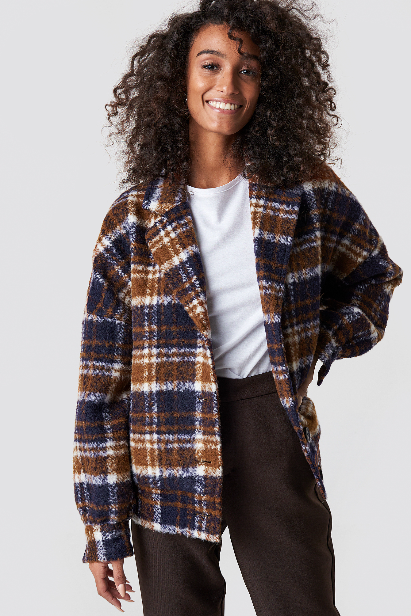 Checked Jacket NA-KD.COM