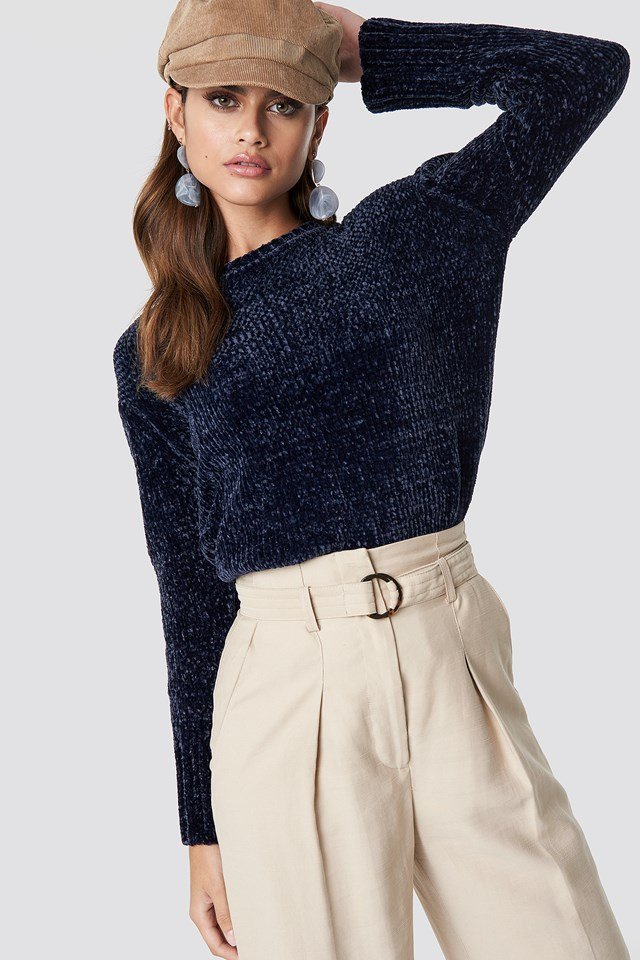 Chenille Knitted Sweater NA-KD