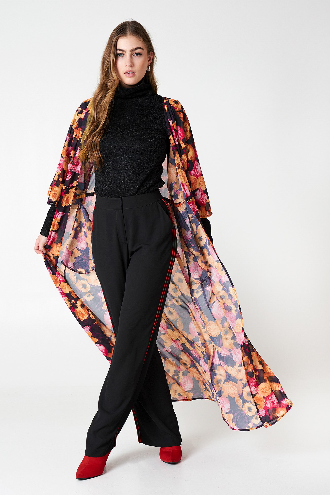 Chiffon Coat Dress NA-KD.COM