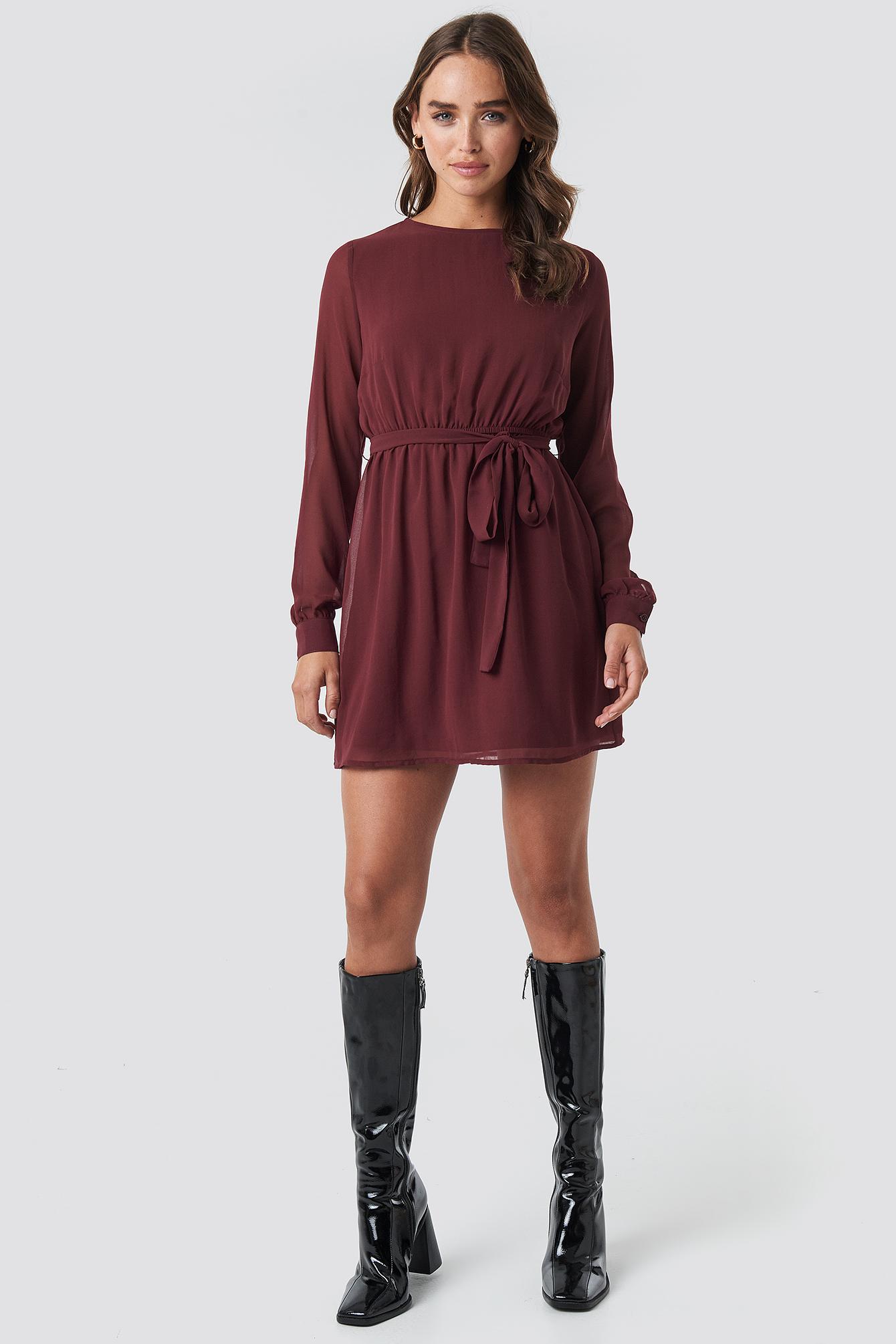 Chiffon Dress NA-KD.COM
