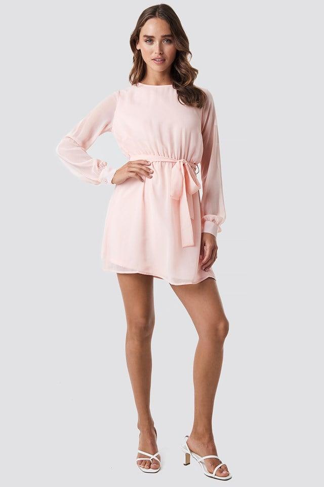 Chiffon Dress Rose Quartz