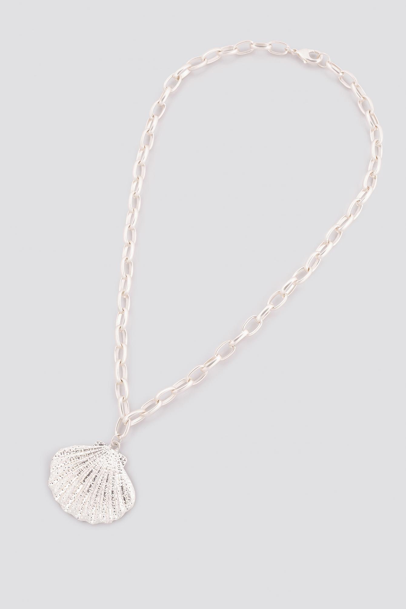 Chunky Chain Shell Necklace NA-KD.COM