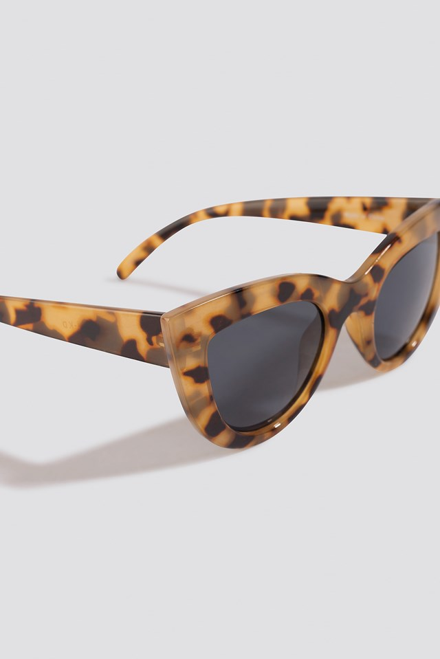 Chunky Pointy Cat Eye Sunglasses NA-KD.COM
