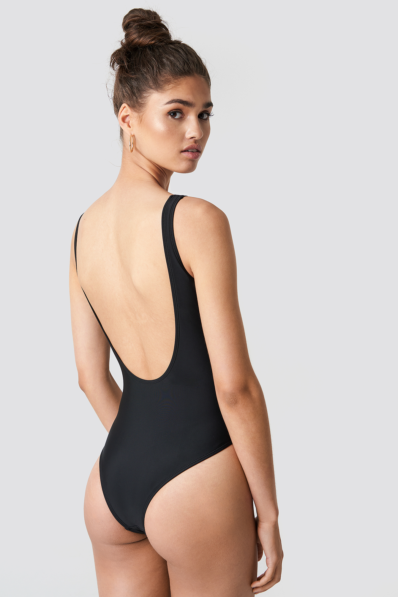 Circle Detail Swimsuit NA-KD.COM