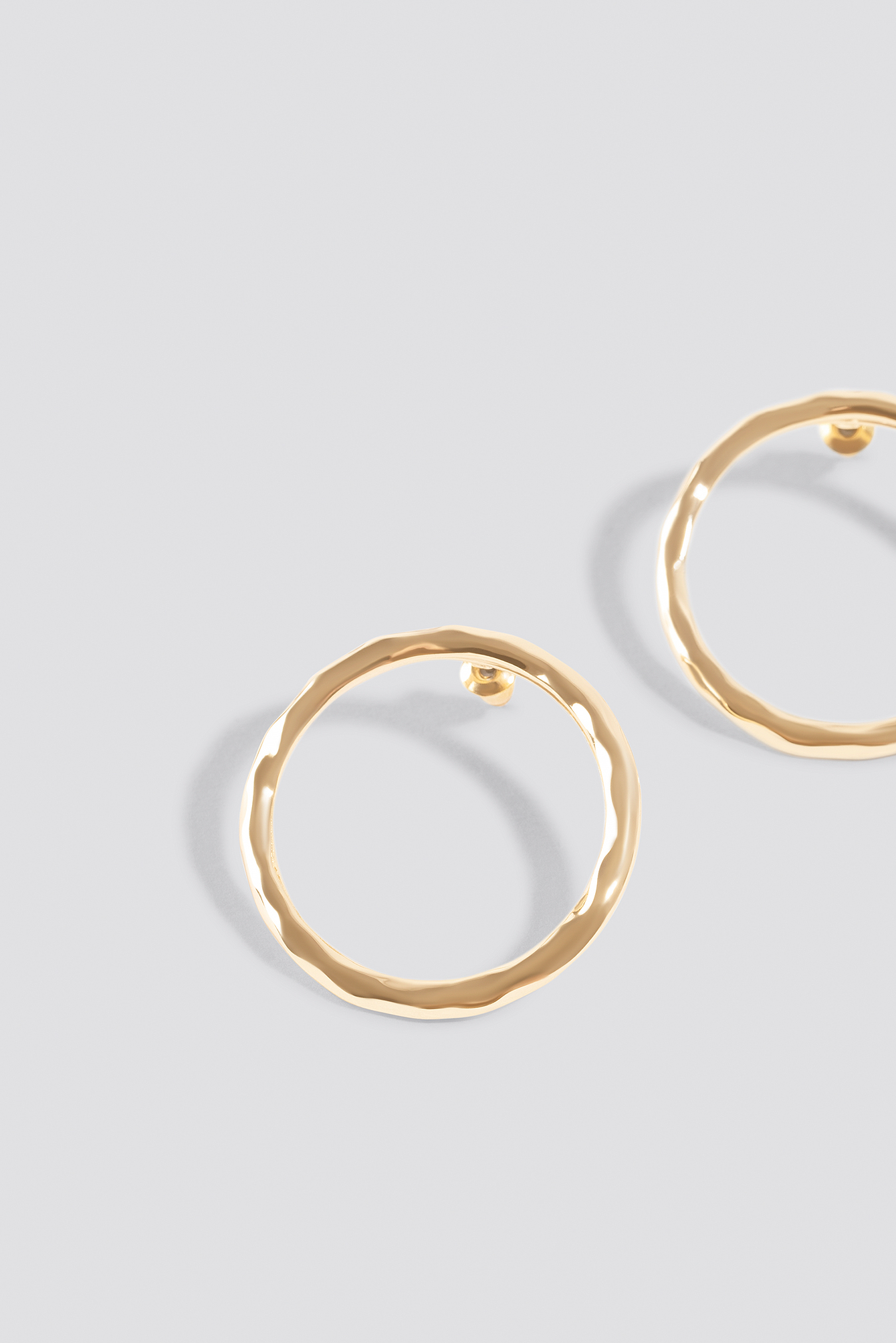 Circle Stud Earrings NA-KD.COM