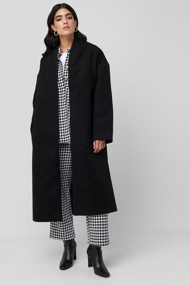 Classic Long Coat Black