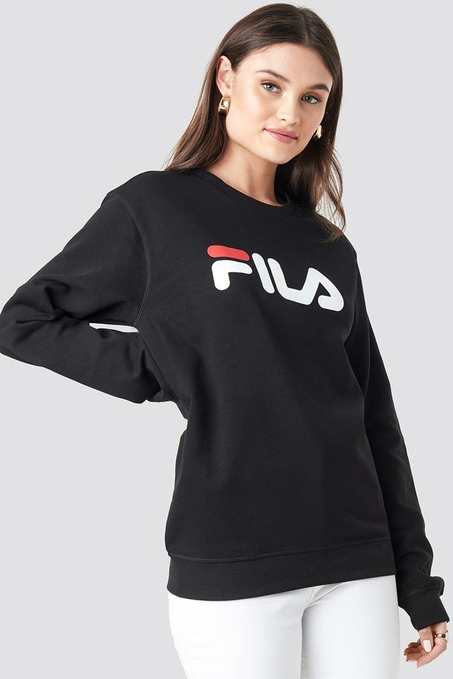 Classic Pure Crew Sweat Black