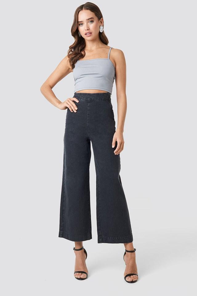 Classy Culotte Denim Pants NA-KD
