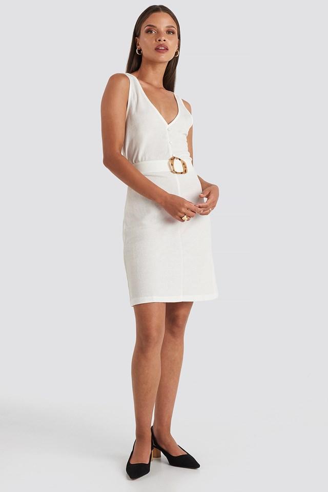 Club Dress White