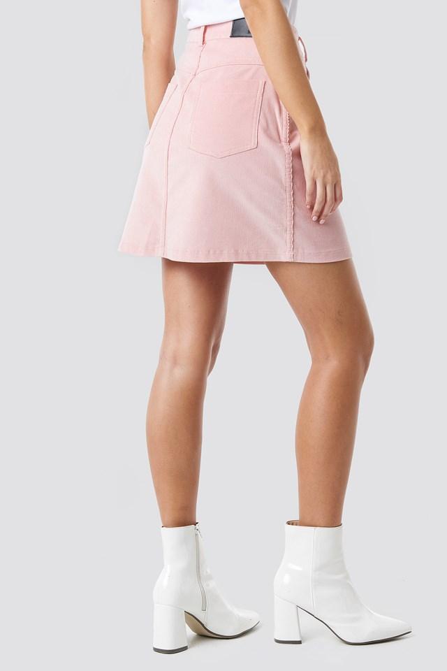 Co-ord Corduroy Mini Skirt NA-KD.COM