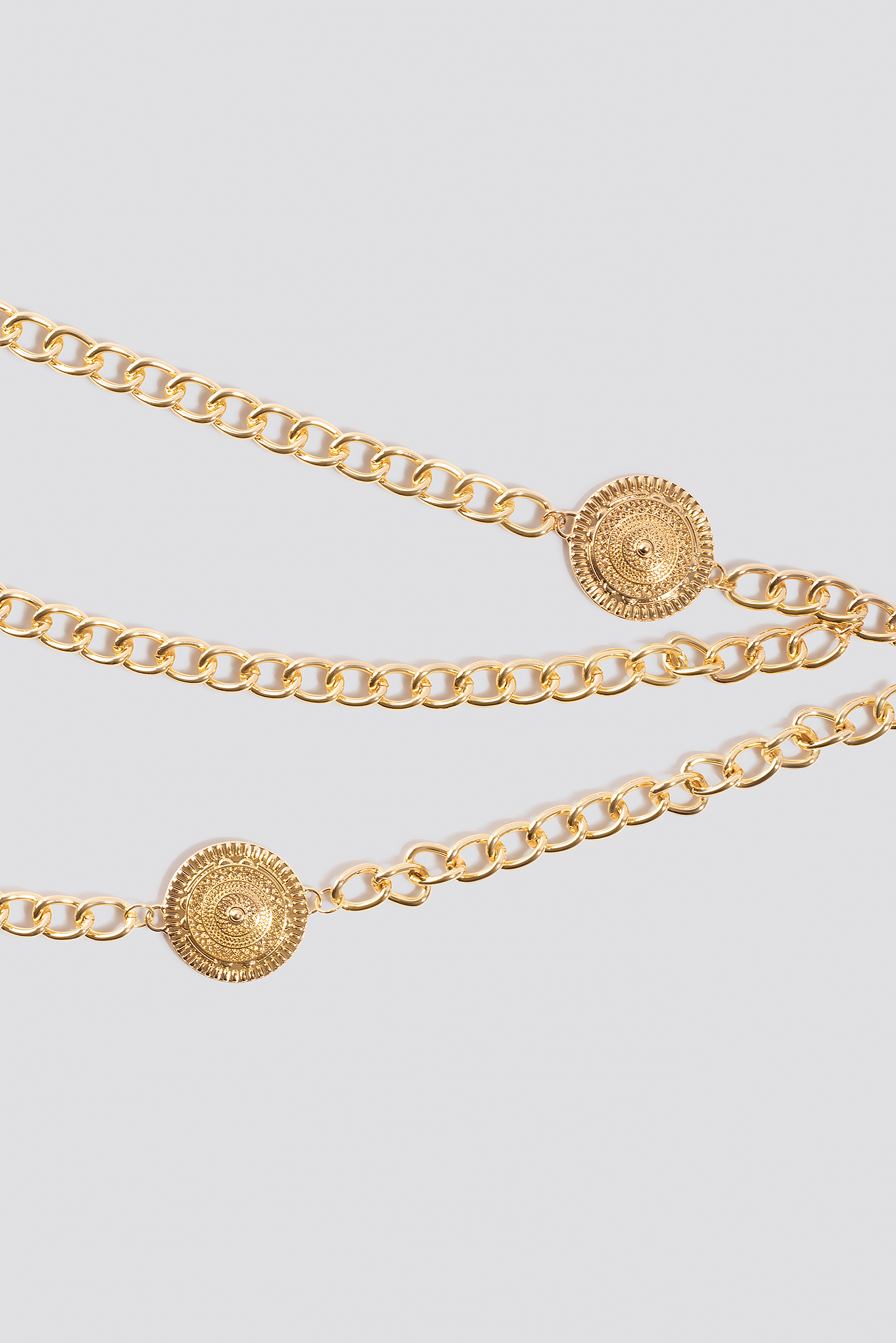 Coin Detailed Chain Belt NA-KD.COM