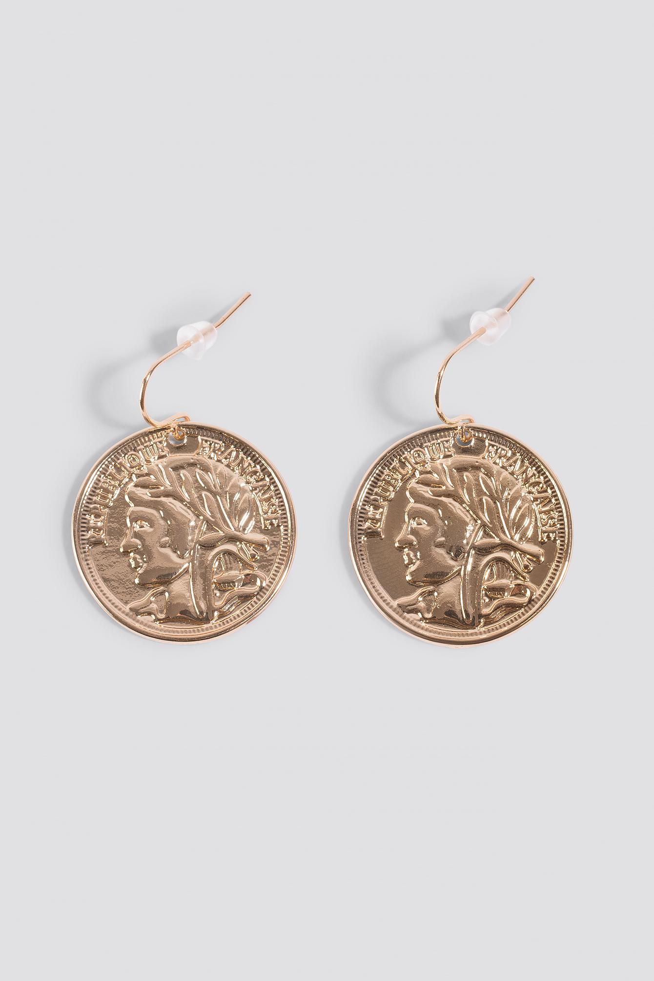 Coin Earrings NA-KD.COM