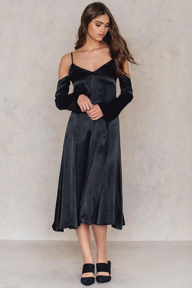 Cold Shoulder Slip Dress NA-KD.COM