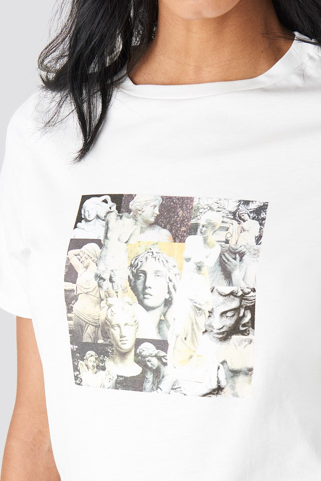 Collage T-shirt Off White