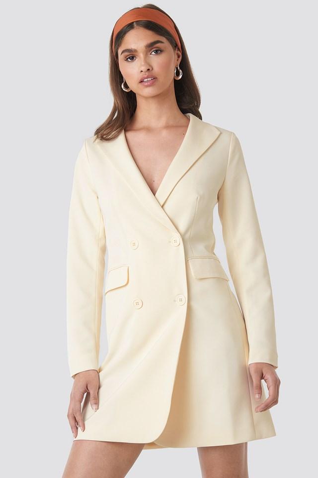 Collared Blazer Dress NA-KD.COM