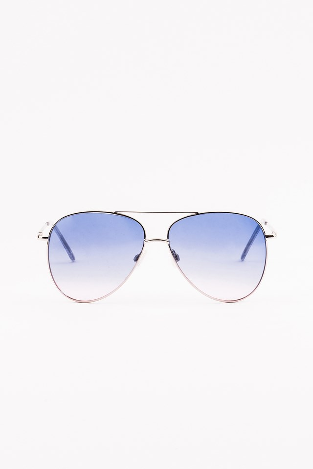 Colored Pilot Sunglasses Lilac