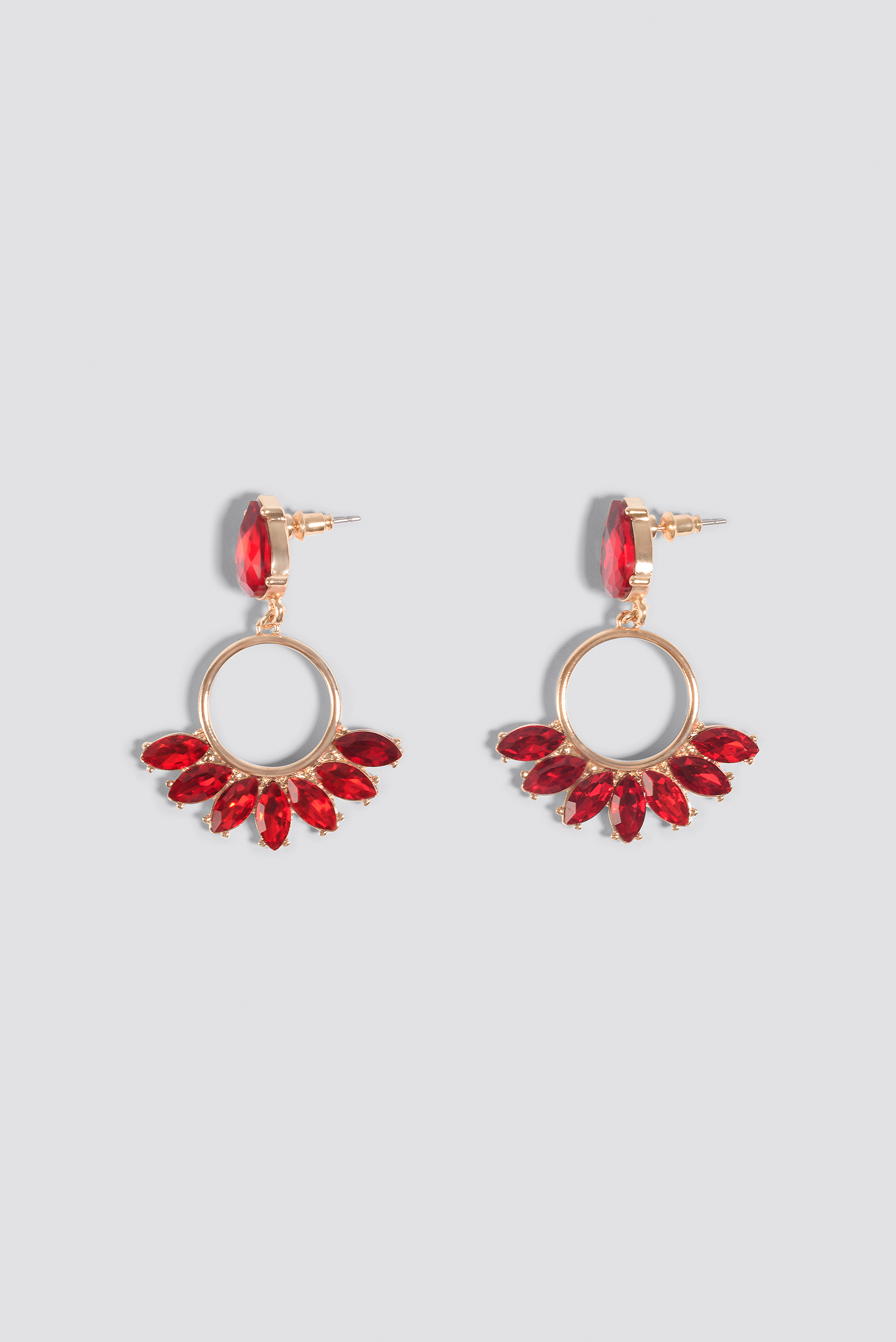 Colorful Marquise Ring Earrings  NA-KD.COM