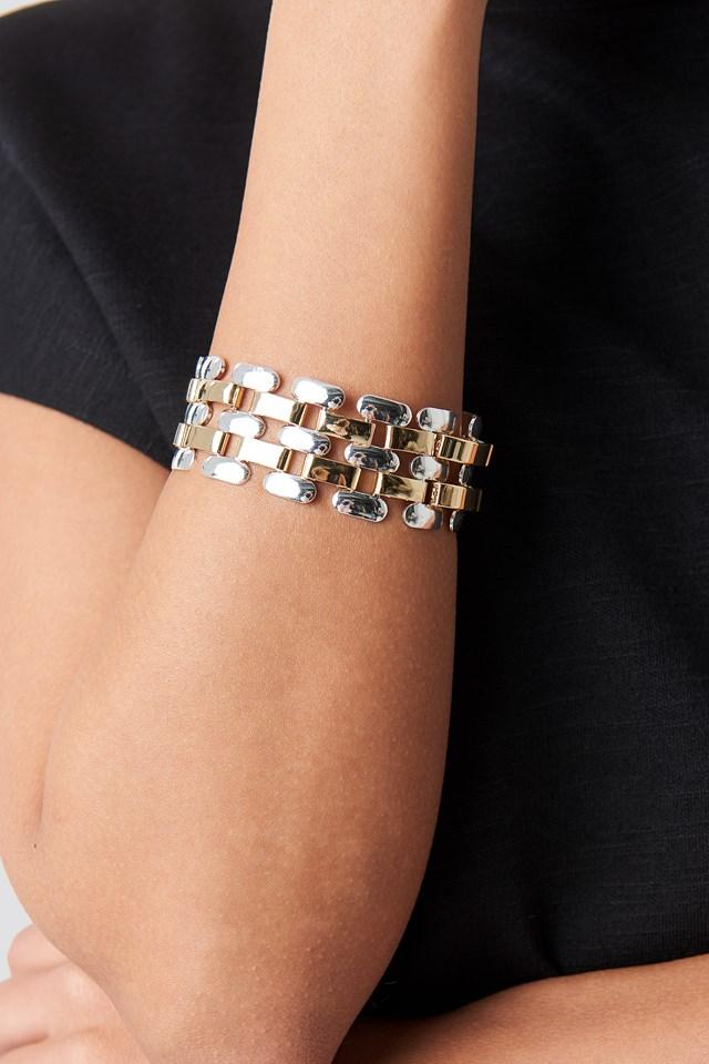 Connected Elements Bracelet Gold/Silver